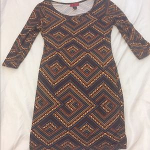 JUST IN🛍🎊🛍🌟 tribal mini dress long sleeve